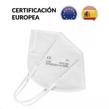 MASCARILLA FFP2 (5 CAPAS) CON CERTIFICACION EUROPEA 20u.